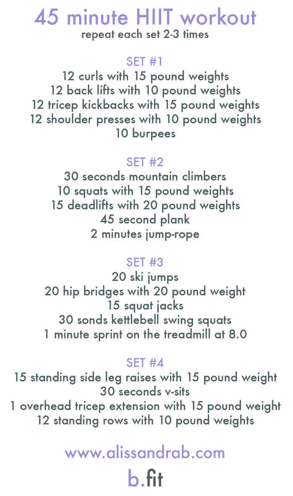 photograph about Printable Hiit Workouts titled september exercise agenda Inspiralized Ali