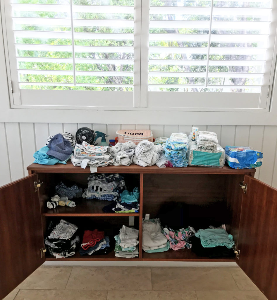 What to pack for a weeklong beach vacation with a baby
